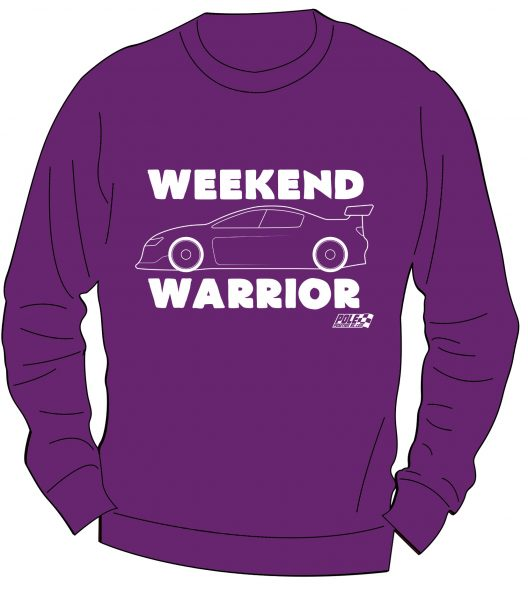 Weekend Warrior - Touring Car Sweater